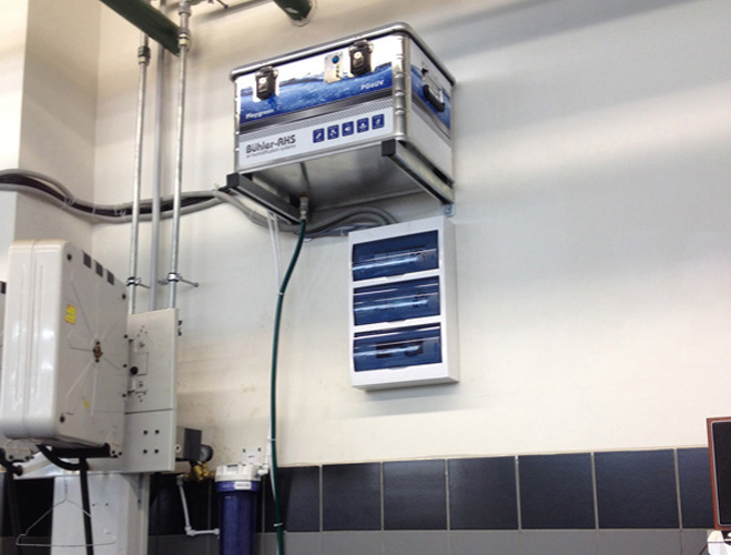 Система увлажнения воздуха Playgreen 6 в офисе