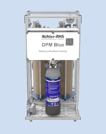 Модуль ультраглубокой очистки DPM Blue системы увлажнения Buhler-AHS