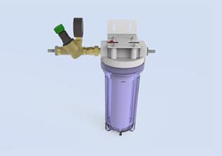 Внешний микрокарбоновый фильтр MCF75 распылительной системы Buhler-AHS