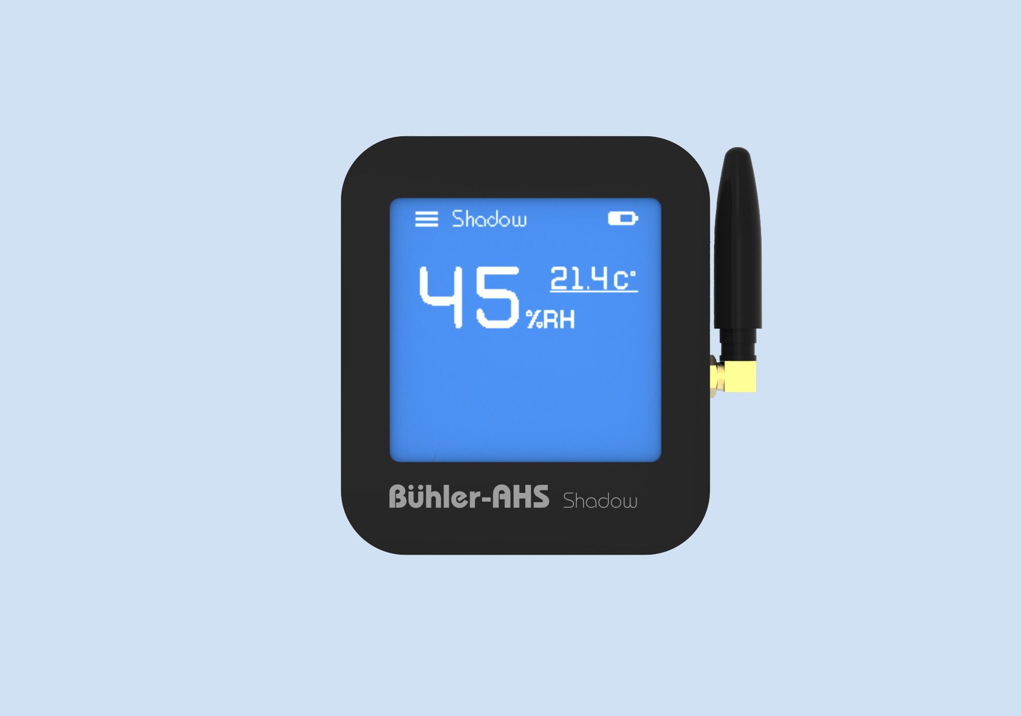 Беспроводной максимальный гигростат Shadow BL адиабатической системы увлажнения воздуха