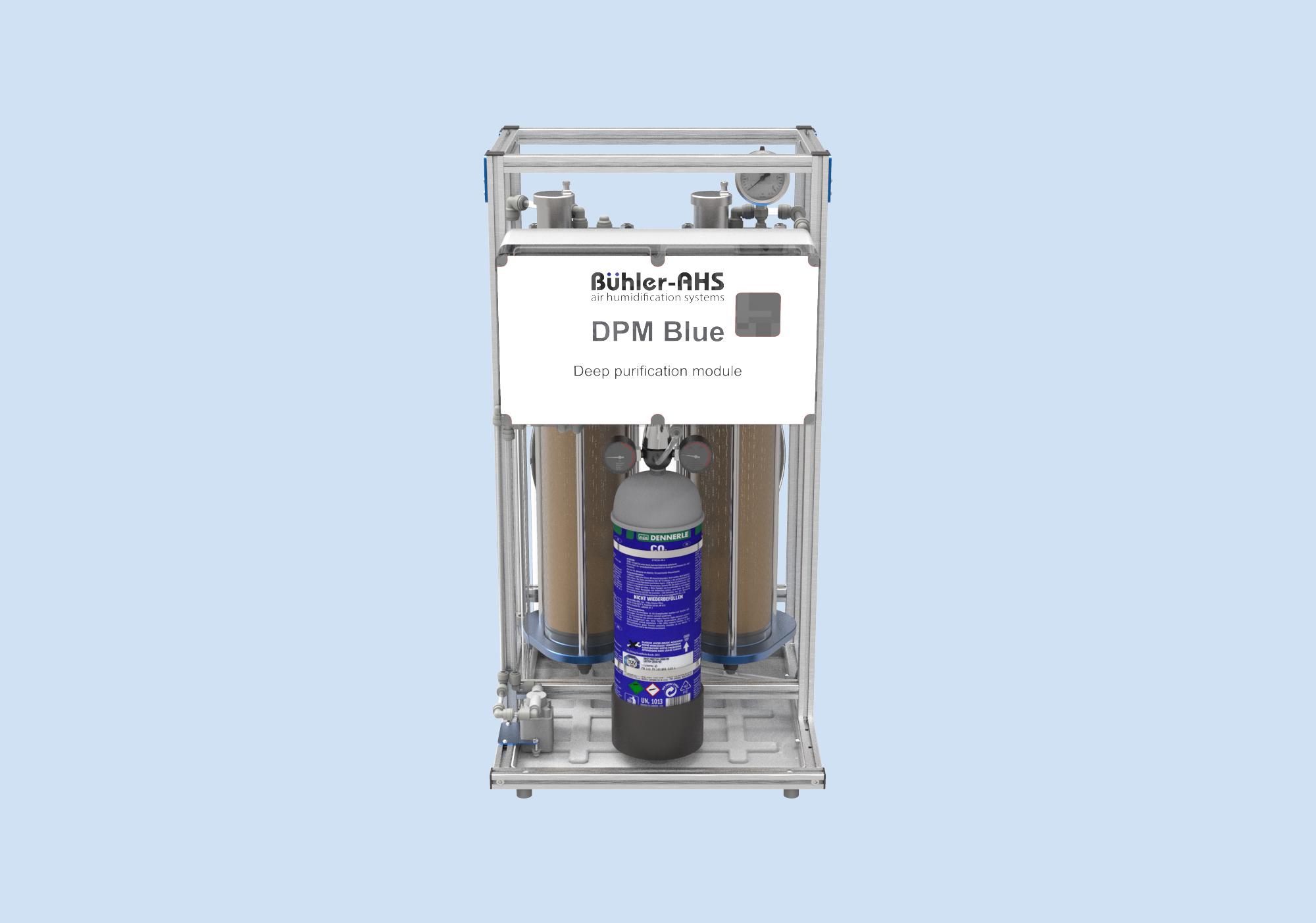 Модуль ультраглубокой очистки DPM Blue системы увлажнения воздуха Buhler-AHS